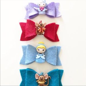 Reserved Cinderella Hair Clips